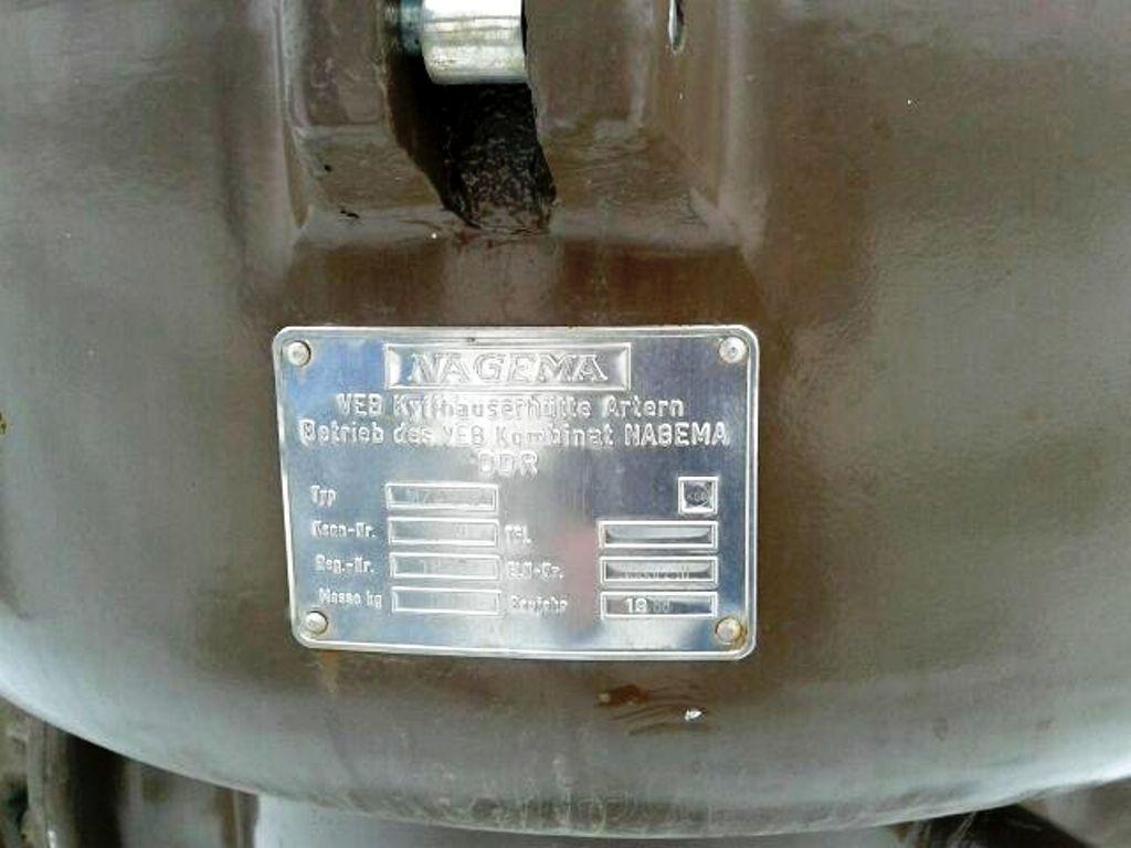 (8) KMA Nagema MZA 12/X manual clean separators, SS.