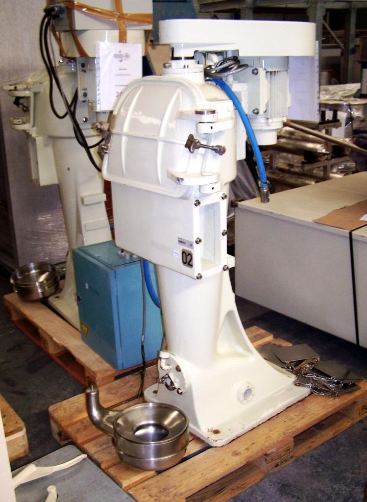 (2) Sharples AS-16P Presurtite Super centrifuges, 316SS.