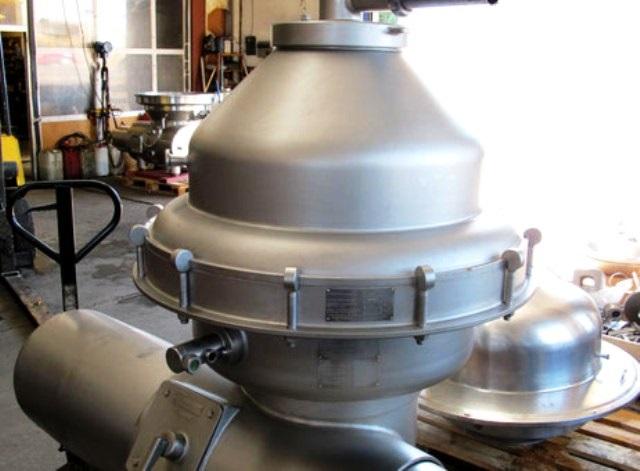 Alfa-Laval DMRPX 207 HGV-34C-50 milk clarifier, 316SS.