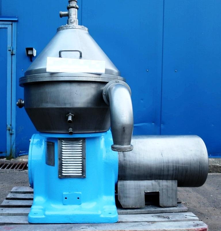 Alfa-Laval HMRPX 407 TGP-74C milk separator, 316SS.