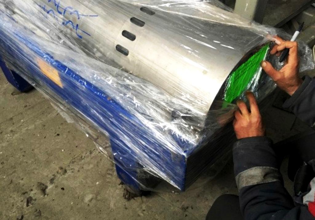Alfa-Laval FOODEC 100 sanitary decanter centrifuge, 316SS.