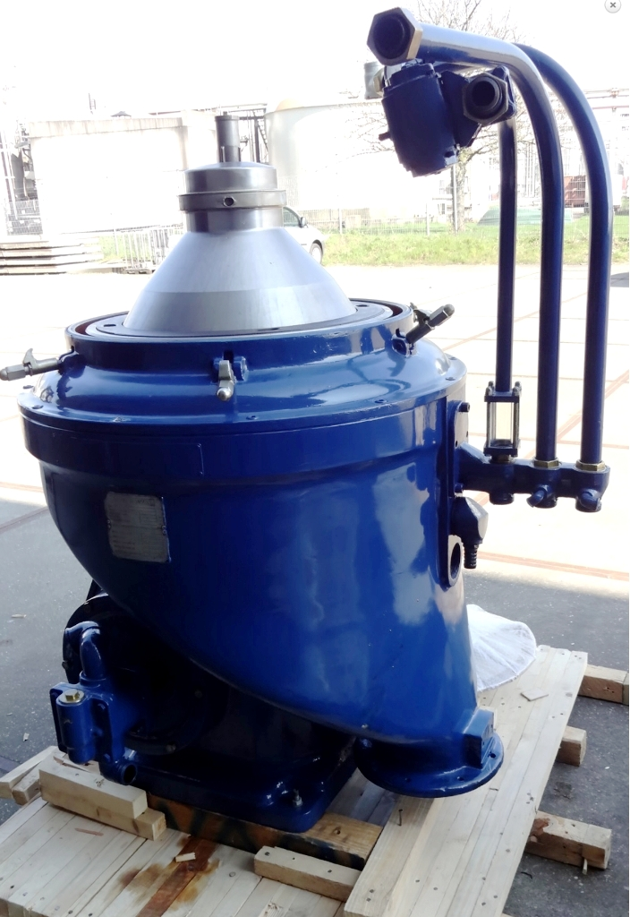 Alfa-Laval WHPX 513 TGD-20 oil purifier, SS.