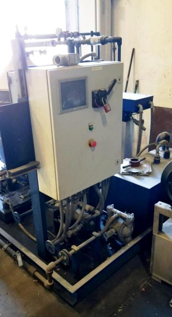 Alfa-Laval MOPX 210 TGT-24-60 oil purifier skid, SS.