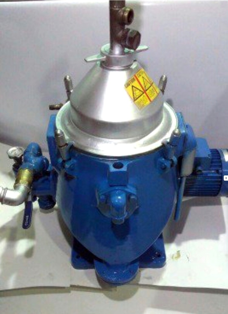 Alfa-Laval MAPX 204 TGT-24 oil purifier, SS.