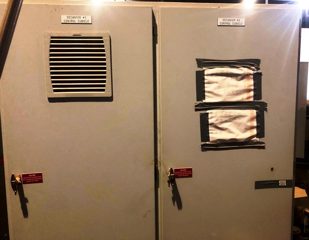 (2) Alfa-Laval FOODEC 600 decanter centrifuges, 316SS.