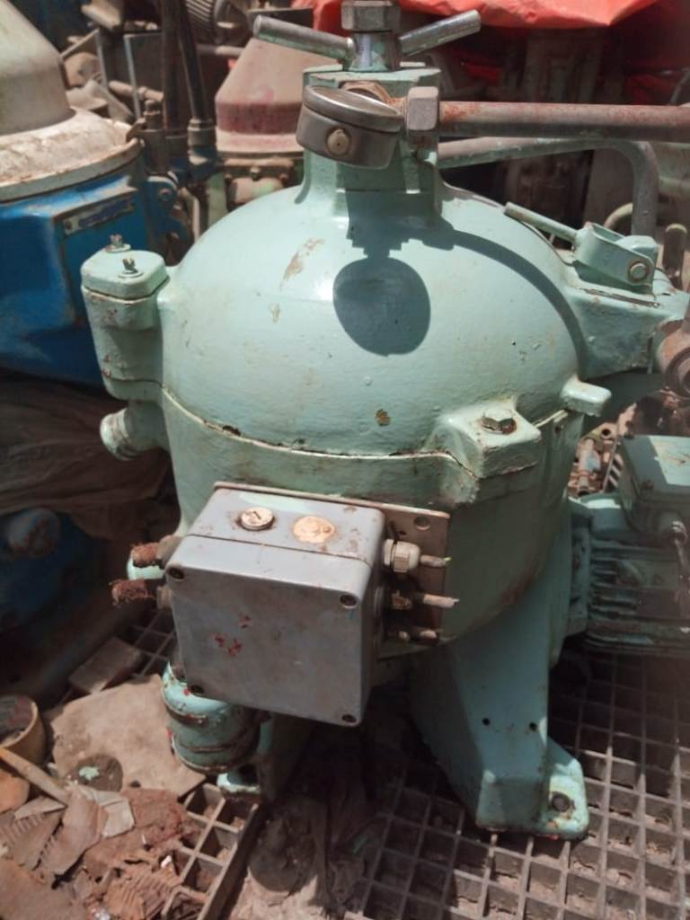 (3) Westfalia OSC 5-02-066 fuel oil purifiers, SS.
