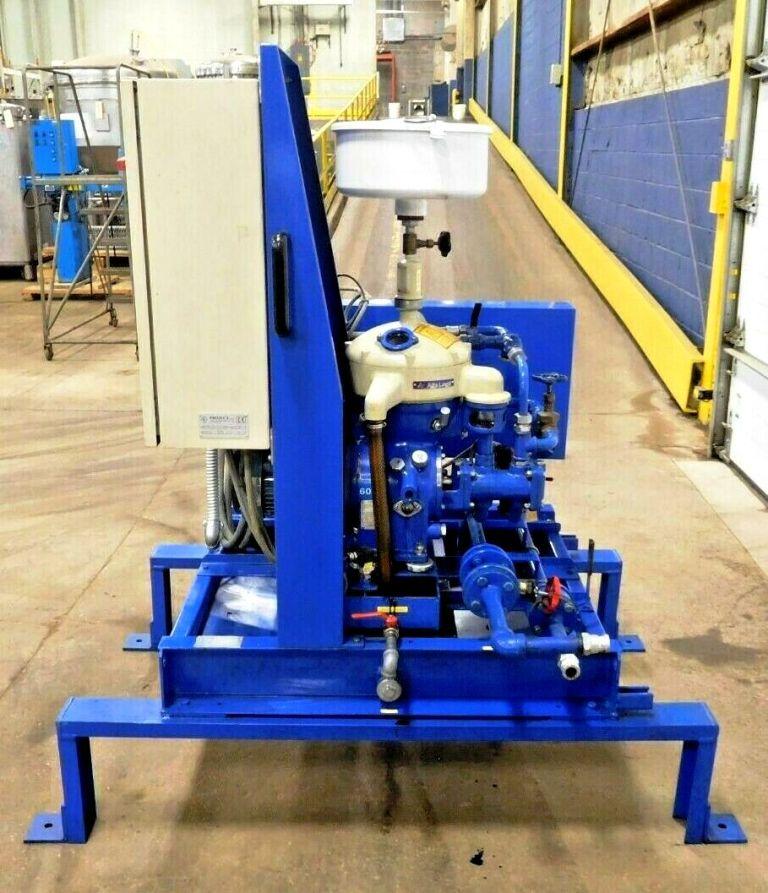 Alfa-Laval MAB 103B-24-60 oil purifier skid, SS.