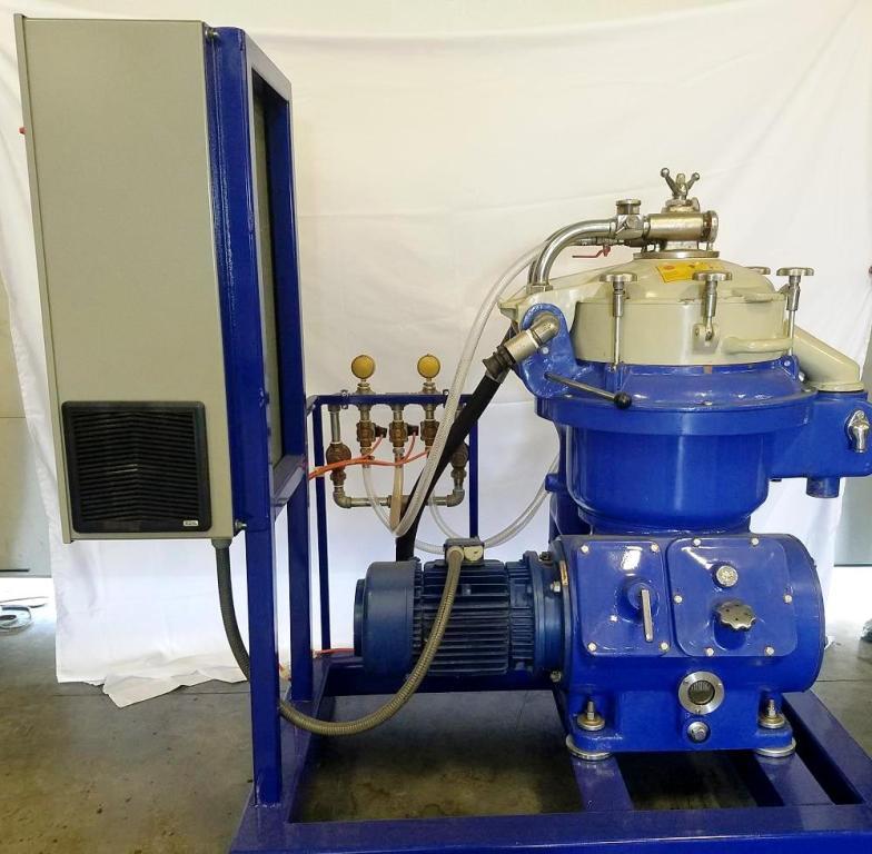Alfa-Laval MAPX 207 SGT-29-60 purifier centrifuge, 316SS.