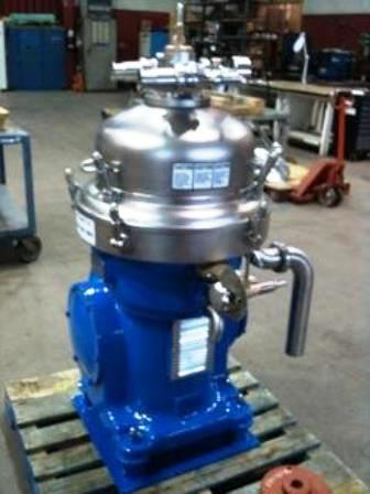 Alfa-Laval MRPX 207 SGV-34-60 clarifier centrifuge, 316SS.