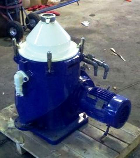 Alfa-Laval MAPX 204 TGT-14-60 oil purifier, 316SS.