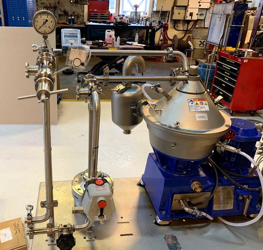 Alfa-Laval LAPX 404 SGP-31G CLARA 20 LF clarifier, 316SS.