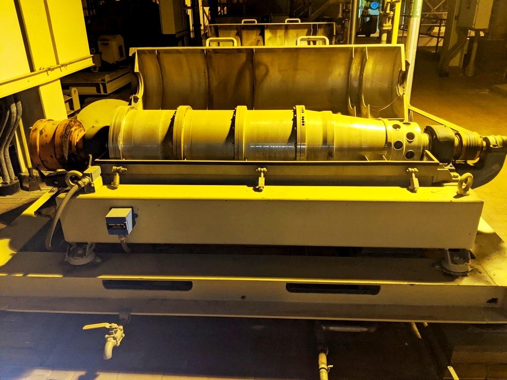 (6) Alfa-Laval NX 418B-31G decanter centrifuges, 316SS.