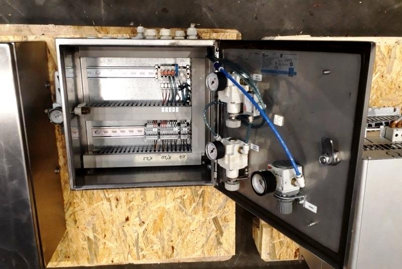 Alfa-Laval MRPX 418 TGV-74C warm milk separator, 316SS.