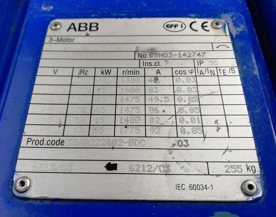 Alfa-Laval ALDEC 504 decanter centrifuge, 1.4462 SS.
