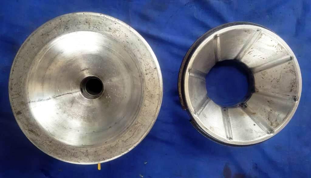 (2) Westfalia OTA 7 bowl assemblies, SS.
