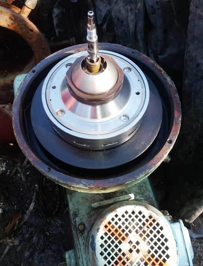 Alfa-Laval MMPX 404 SGP-11 oil purifier, 316SS.