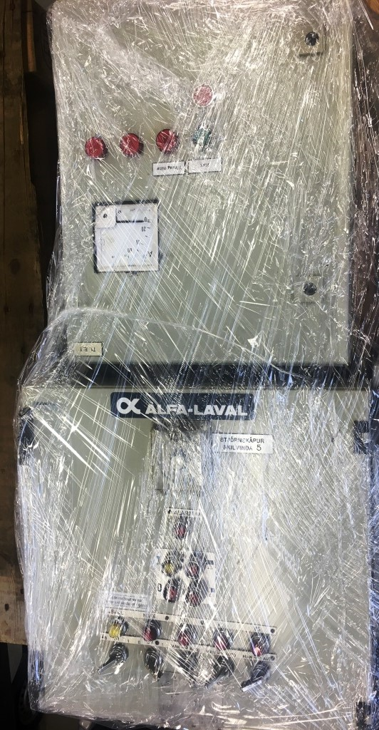 Alfa-Laval AFPX 413 XGD-74 oil concentrator, 316SS.