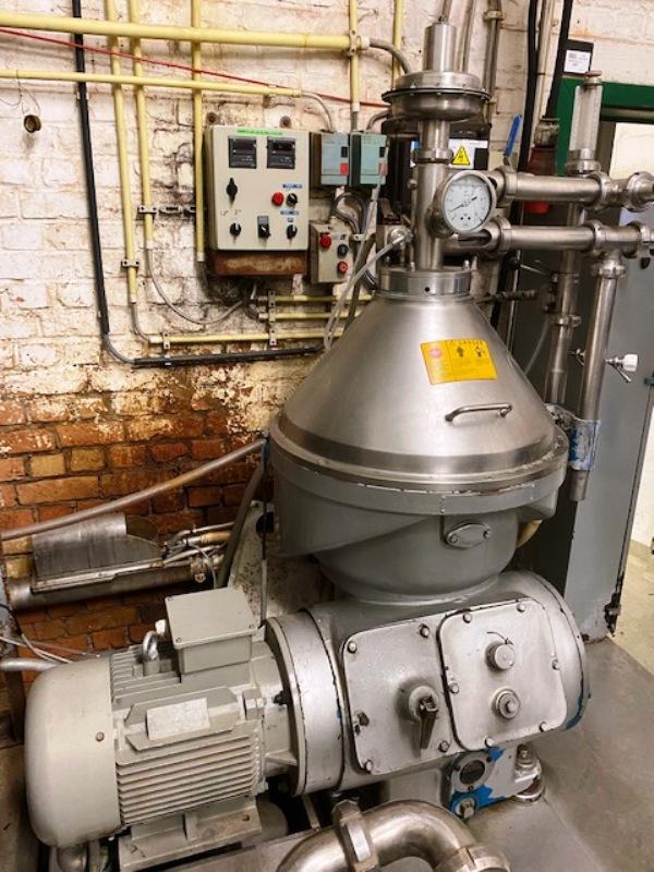 Alfa-Laval VNPX 407 SGP-34S clarifier centrifuge, 316SS.