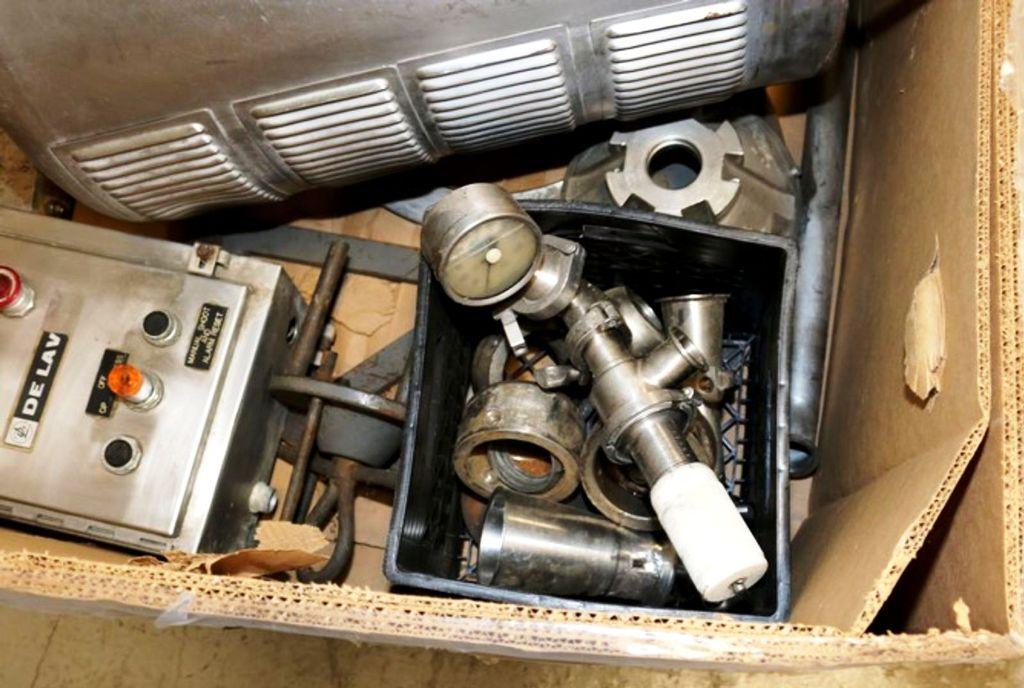 Alfa-Laval MRPX 318 milk separator, 316SS.