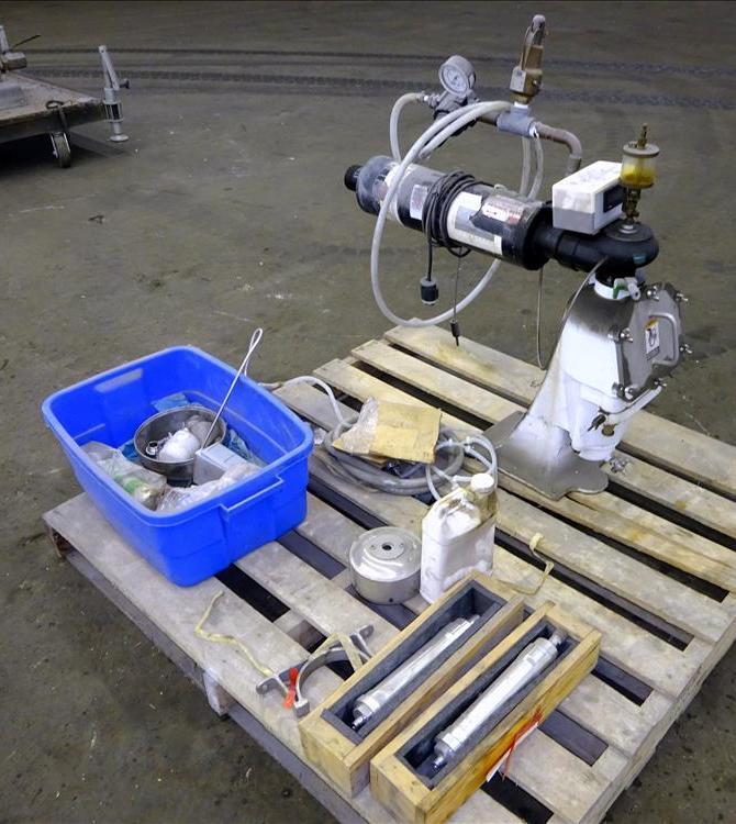 Alfa-Laval T-1P pressuretite lab Super centrifuge, 316SS.