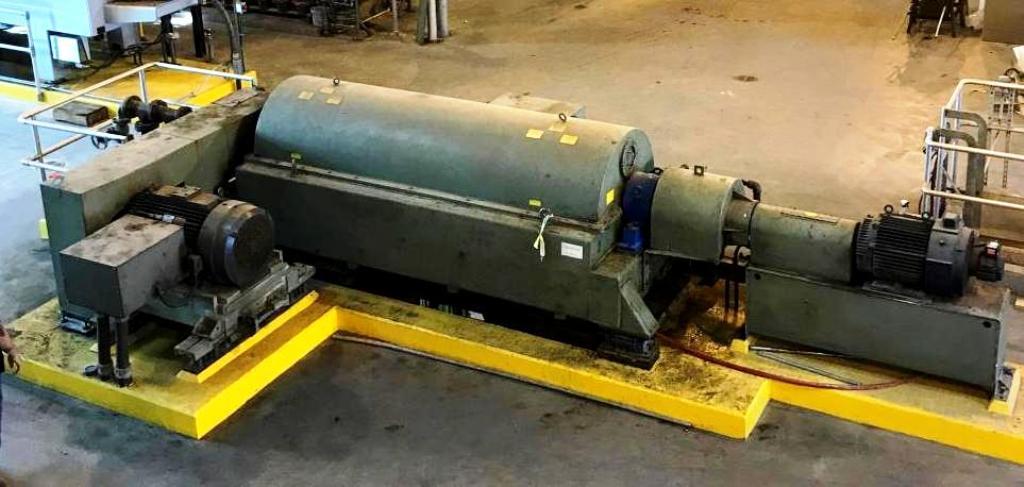 (3) Sharples DS-706 Super-D-Canter centrifuges, 316SS.