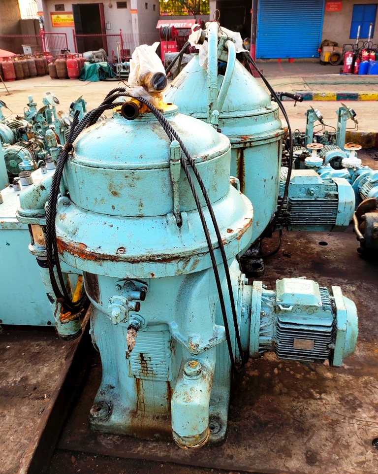 Alfa-Laval FOPX 610 TFD-24-60 oil purifier, 316SS.