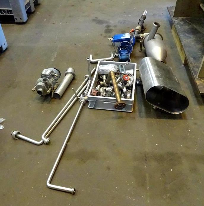 Alfa-Laval CT-6 Centritherm evaporator, 316SS.