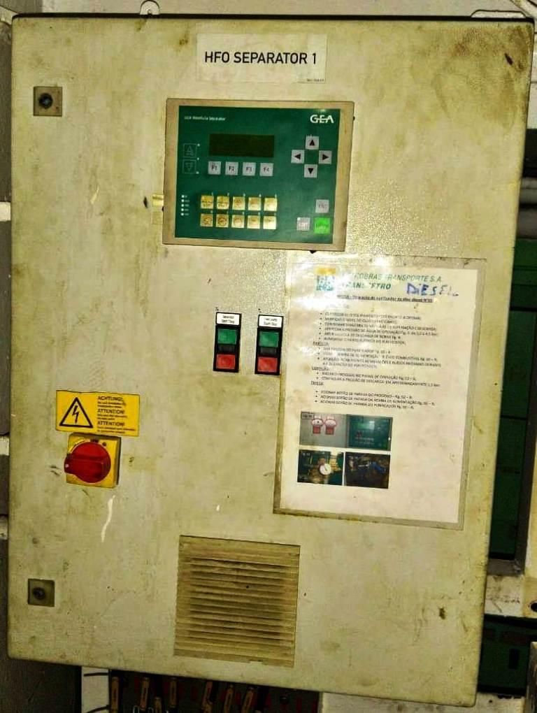 (3) Westfalia OSE 5-0136-037/5 fuel oil purifiers, SS.