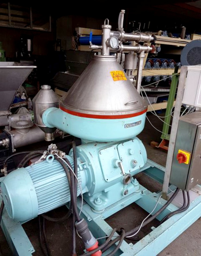 Alfa-Laval VNPX 410 SGD-34 clarifier centrifuge, 316SS.