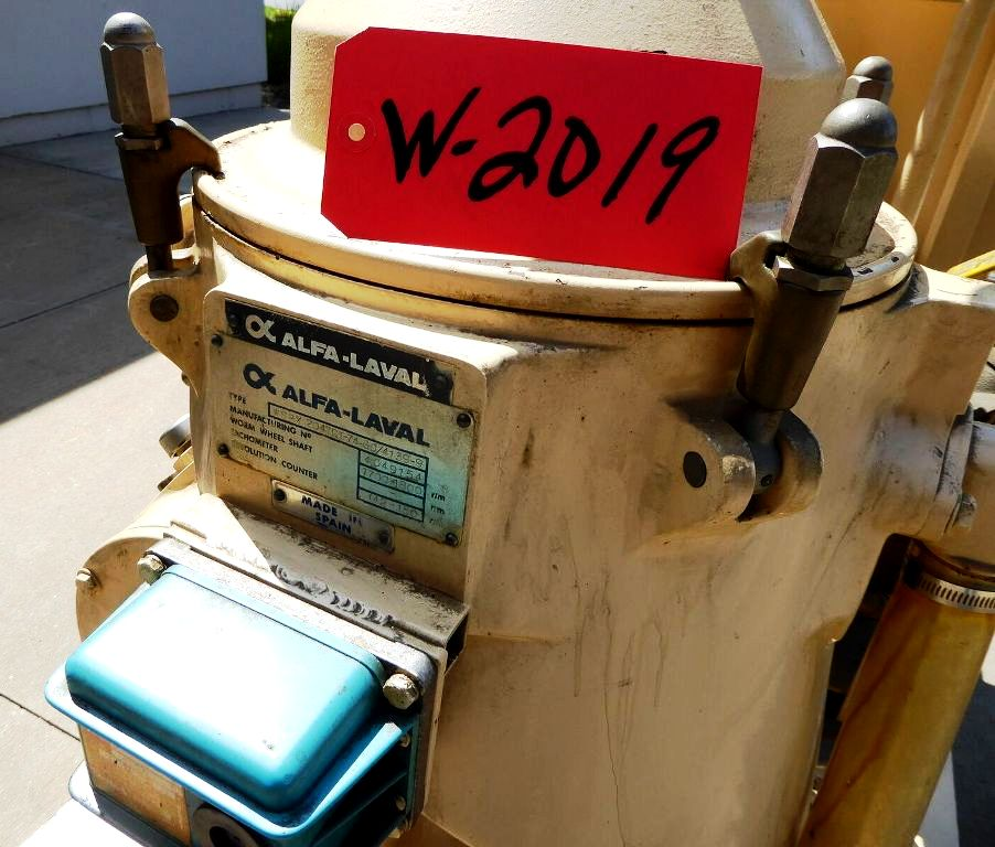 Alfa-Laval WSPX 204 TGT-74-60 coolant purifier, 316SS.