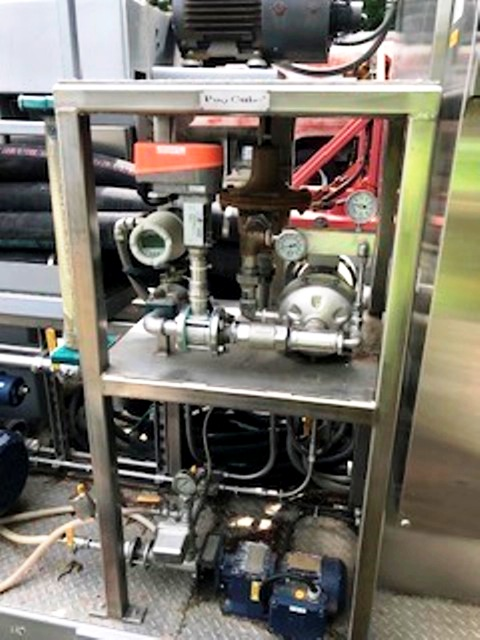 Alfa-Laval ALDEC G2-45 decanter centrifuge module, 316SS.