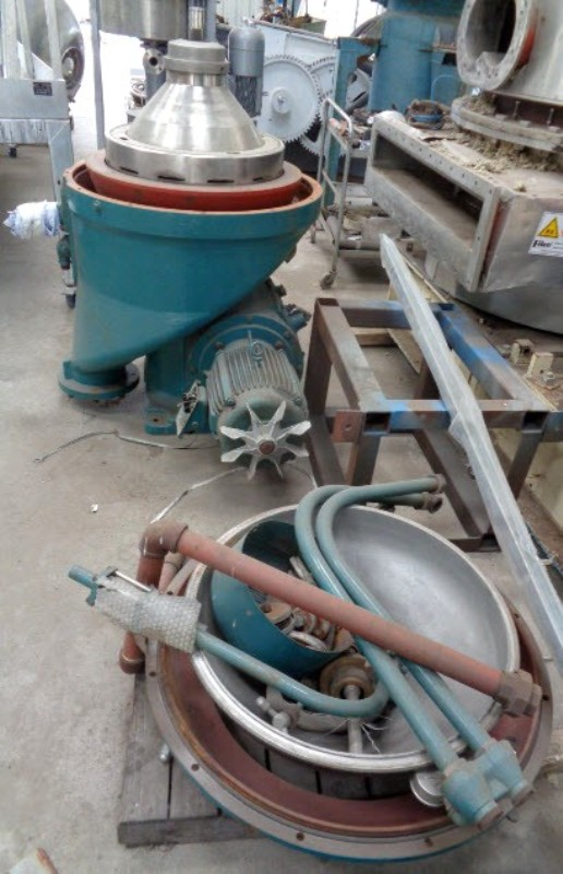 Alfa-Laval WHPX 513 TGD-29 oil purifier, SS.